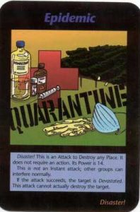 Illuminati card quarantine