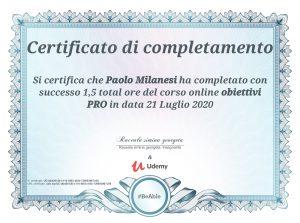 Obiettivi PRO Paolo Milanesi