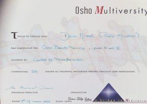 Paolo Milanesi Osho Breath Training