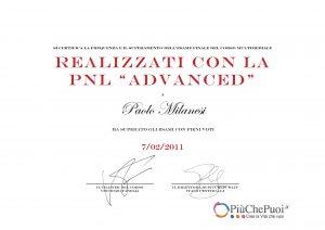 PNL advanced Paolo Milanesi